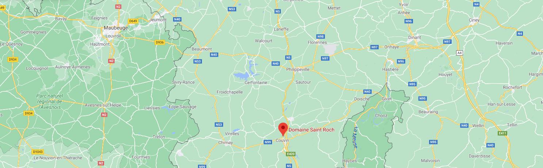 Carte Domaine Saint Roch