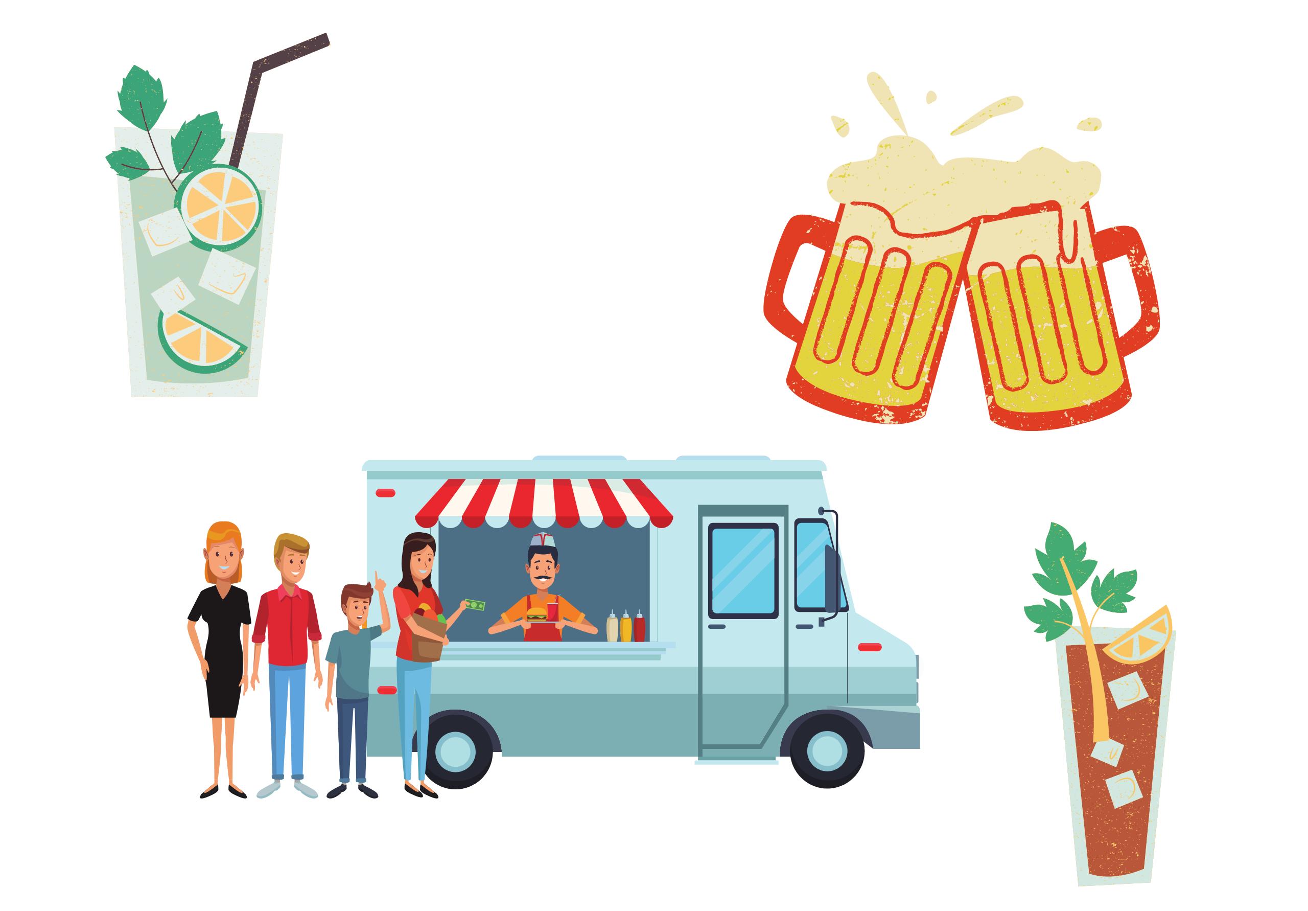Foodtruck et drinks